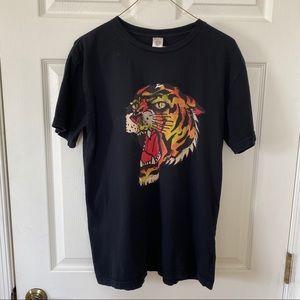 Men's Ed Hardy Black Tee shirt Large